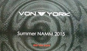 Von York Summer NAMM 2015 CD Sampler